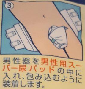 スーパー尿パッドの図